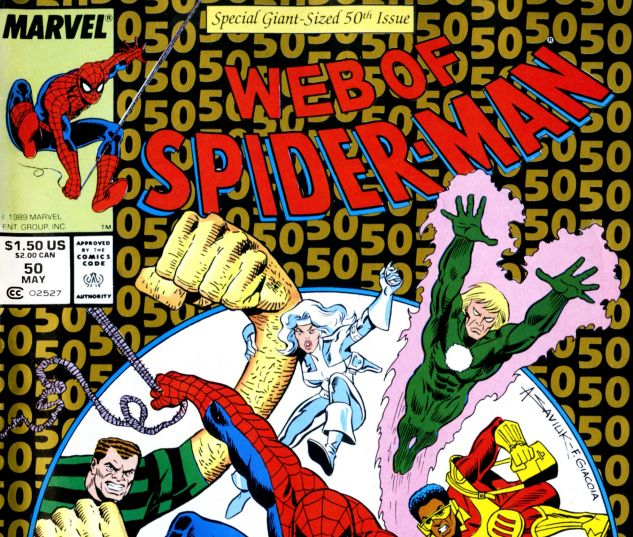 Web of Spider-Man (1985) #50