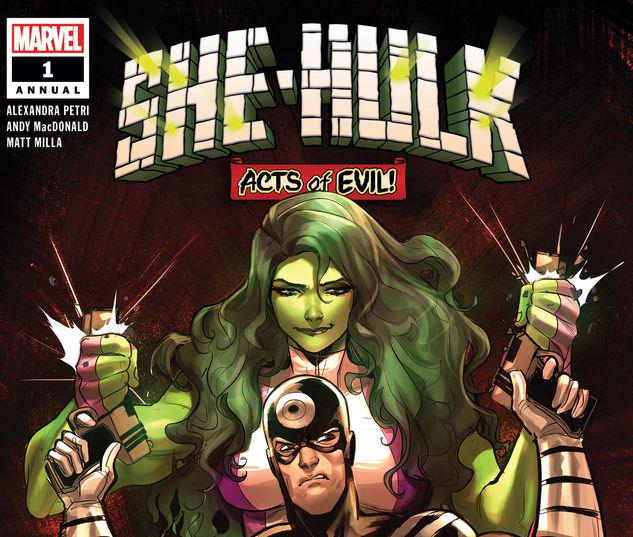 SHE-HULK ANNUAL 1 #1
