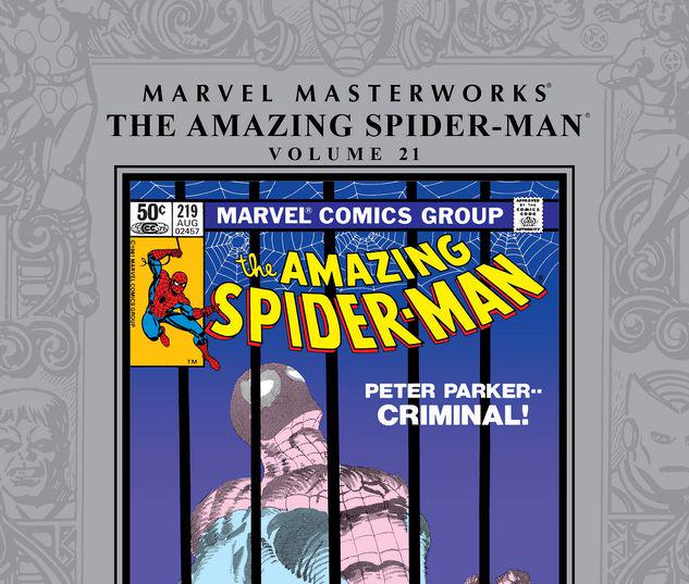 MARVEL MASTERWORKS: THE AMAZING SPIDER-MAN VOL. 21 HC #21