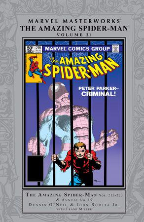 Marvel Masterworks: The Amazing Spider-Man Vol. 21 (Hardcover)