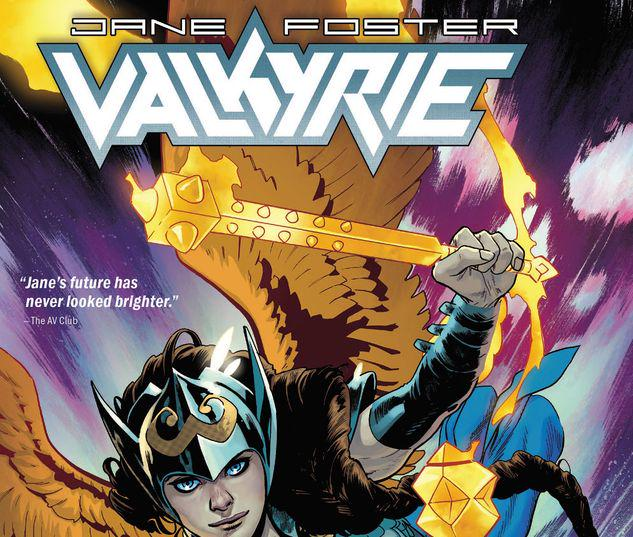 VALKYRIE: JANE FOSTER: VOL. 1 - THE SACRED AND THE PROFANE TPB #1