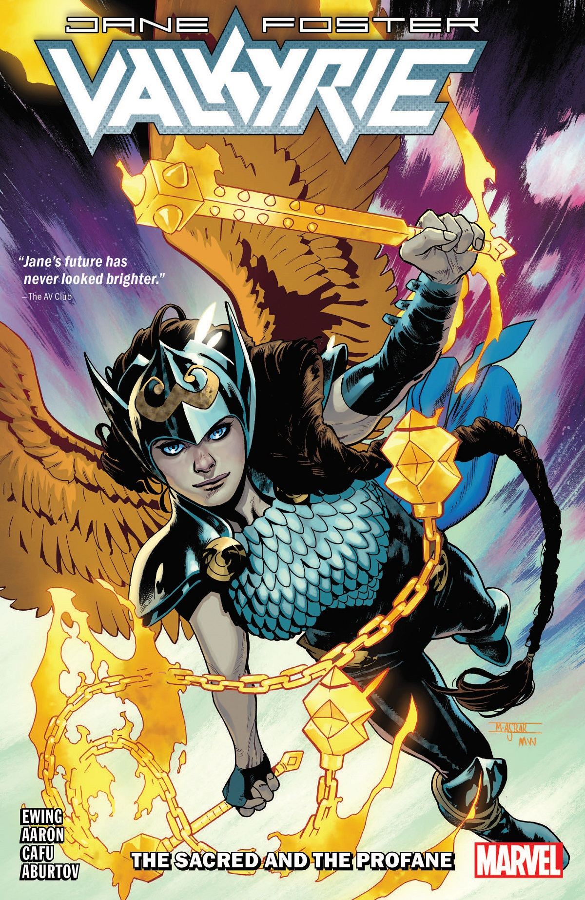 Valkyrie: Jane Foster Vol. 1: The Sacred And The Profane (Trade Paperback)