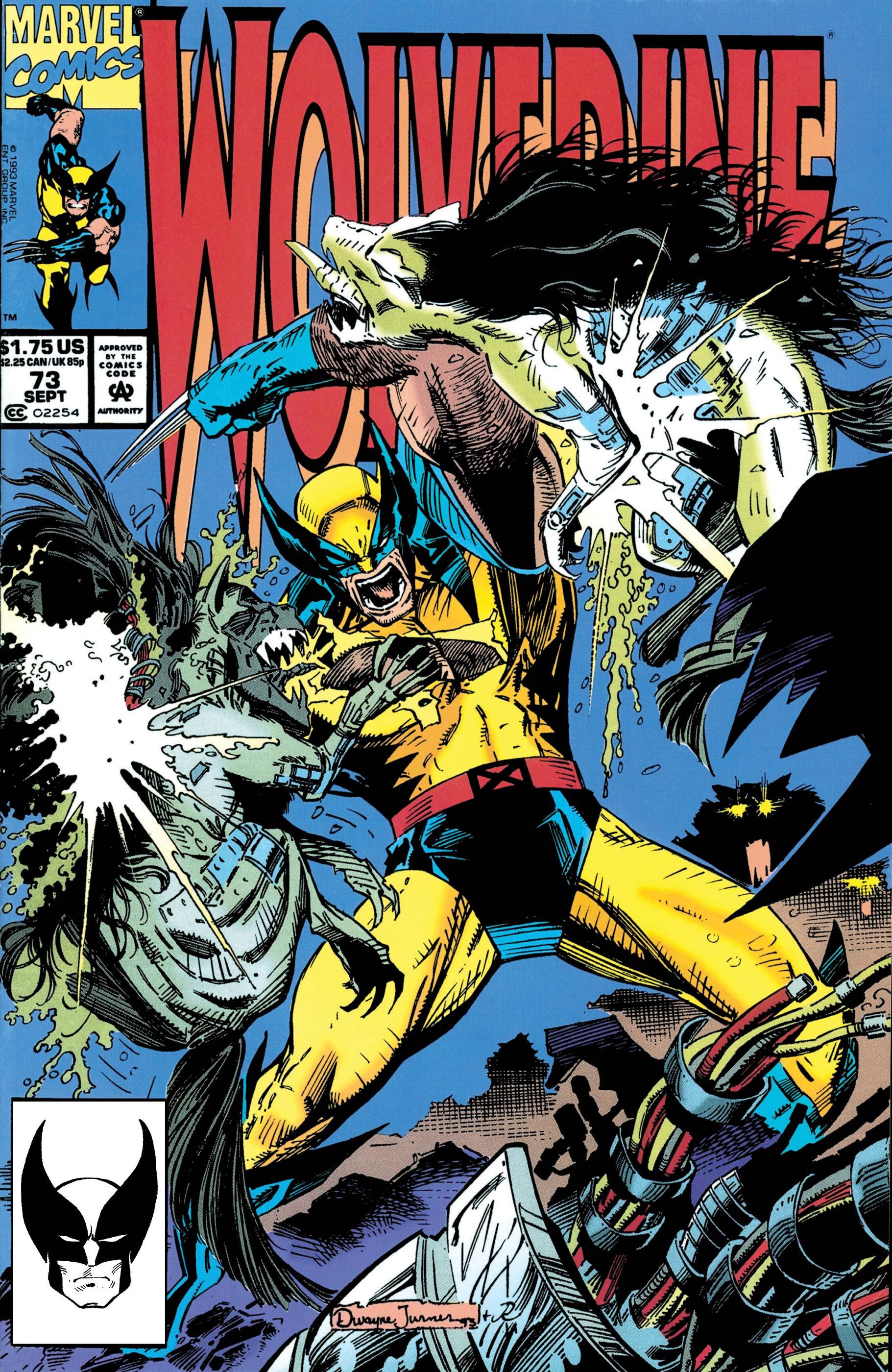 Wolverine (1988) #73