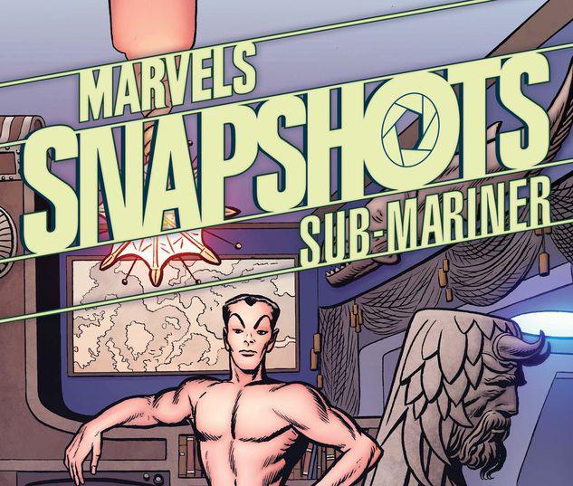 SUB-MARINER: MARVELS SNAPSHOTS 1 KIRBY HIDDEN GEM VARIANT #1
