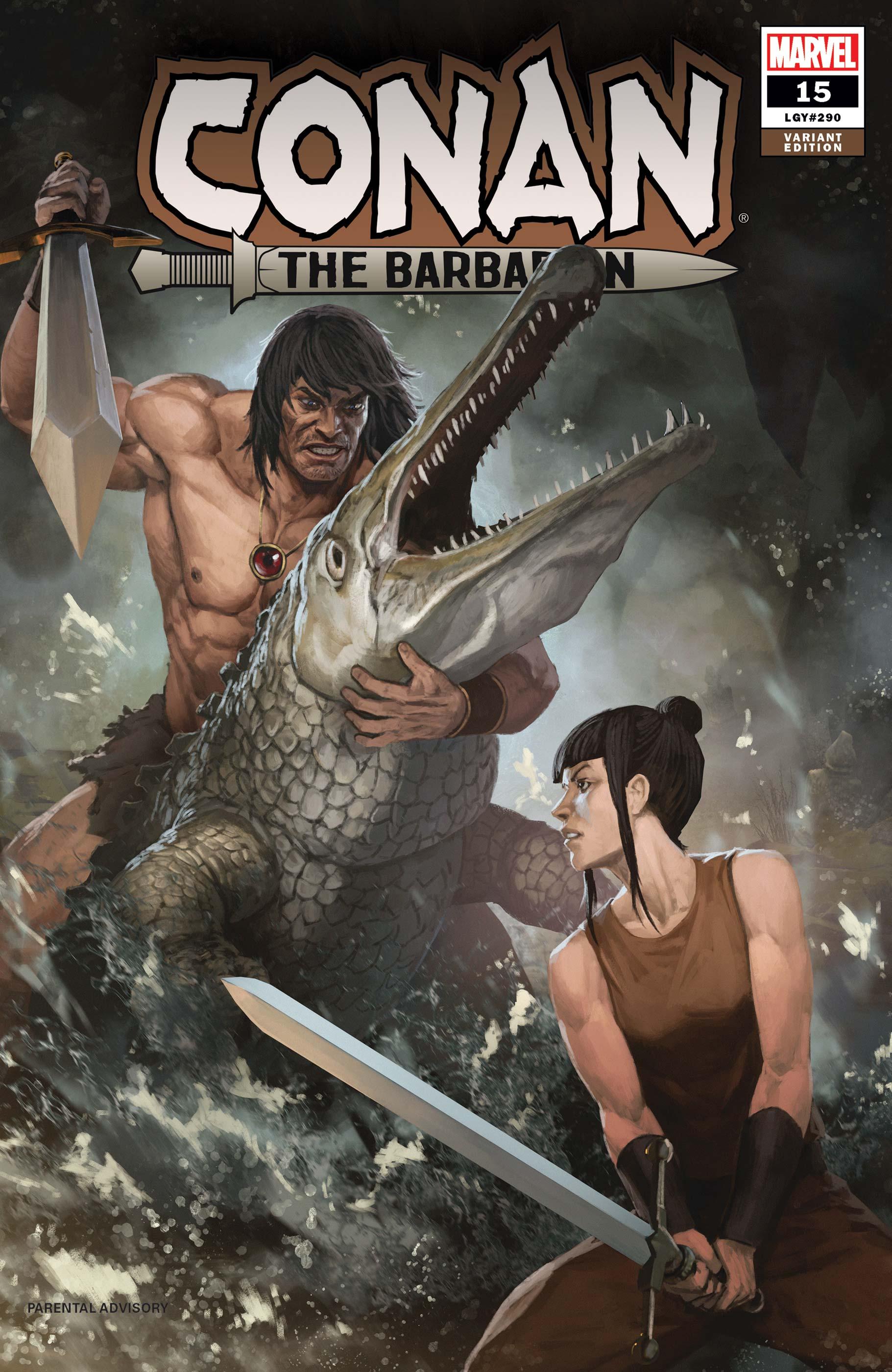 Conan the Barbarian (2019) #15 (Variant)