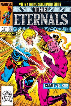 The Eternals (1985) #6