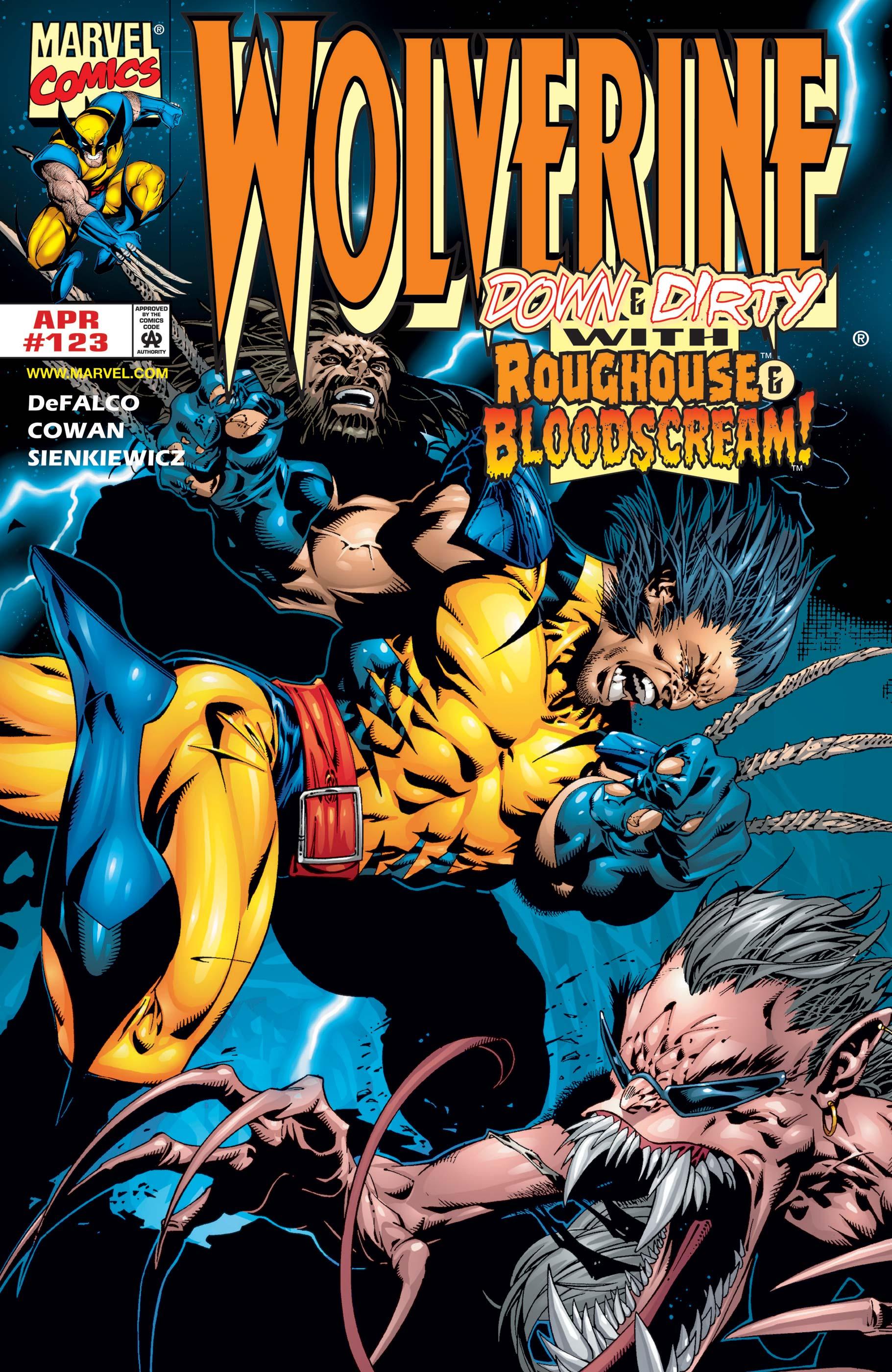 Wolverine (1988) #123
