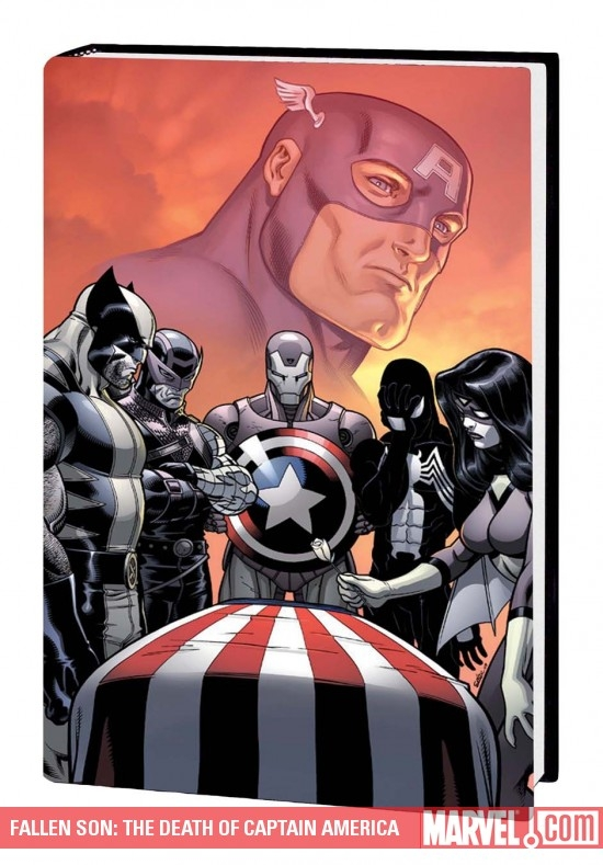 Fallen Son: The Death of Captain America (Hardcover)