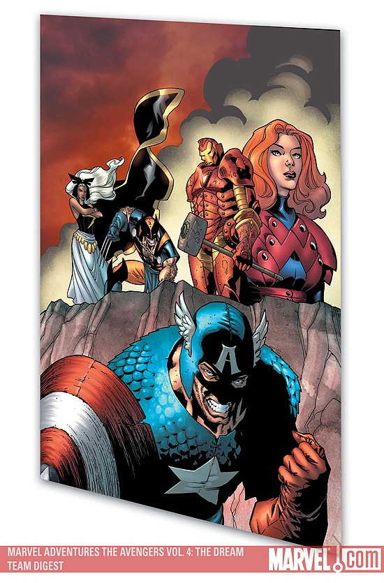 Marvel Adventures the Avengers Vol. 4: The Dream Team (Digest)