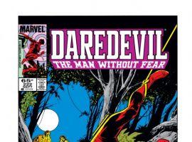 DAREDEVIL #222 COVER