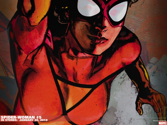 Spider-Woman (1978) #5 Wallpaper