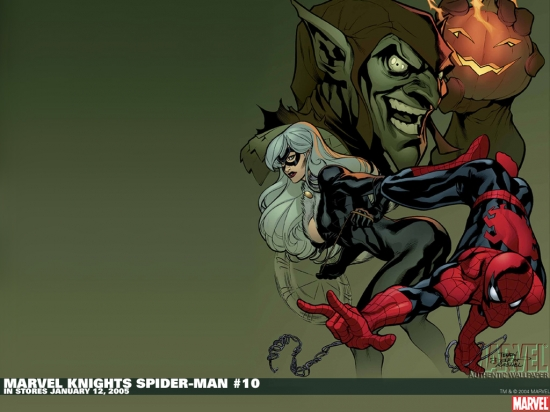 Marvel Knights Spider-Man (2004) #10 Wallpaper