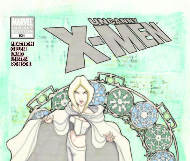 Uncanny X-Men #534 Emma Variant