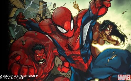 Avenging Spider-Man (2011) #1 Wallpaper