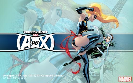 Avengers VS X-Men (2012) #3 Campbell Variant