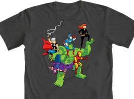 Mighty Fine: Avengers Tee Design Contest Winner