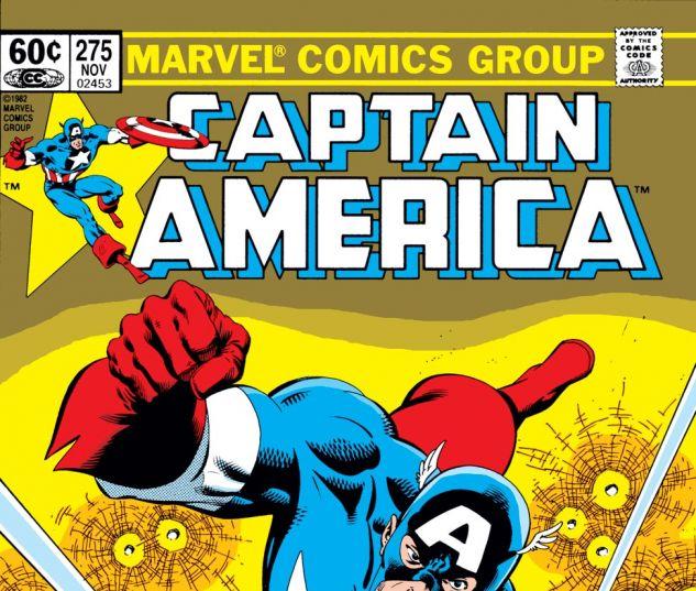 Captain America (1968) #275 Cover