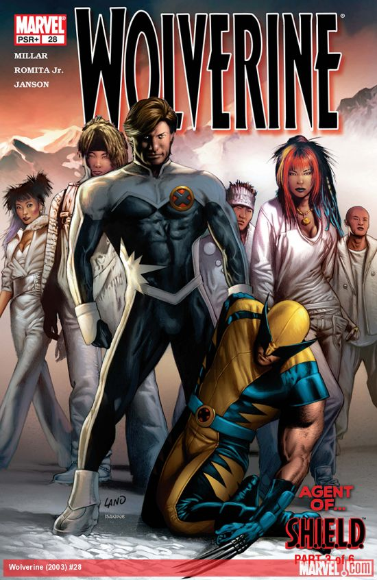 Wolverine (2003) #28