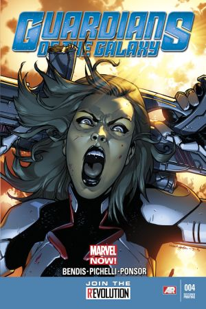 Guardians of the Galaxy (2013) #4 (2nd Printing Variant)