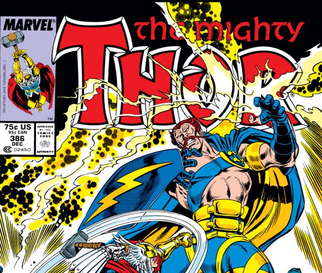 Thor (1966) #386 Cover