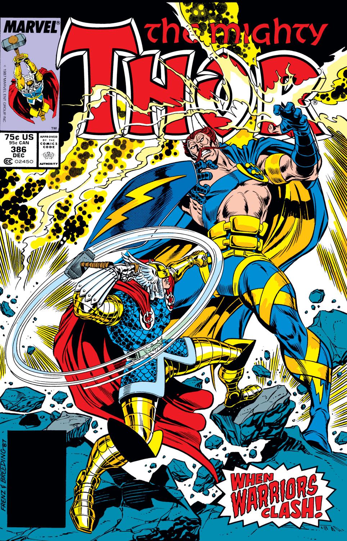 Thor (1966) #386