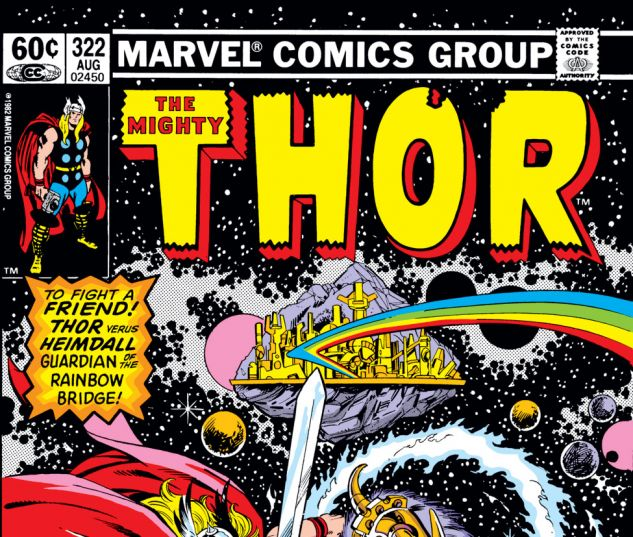 Thor (1966) #322 Cover
