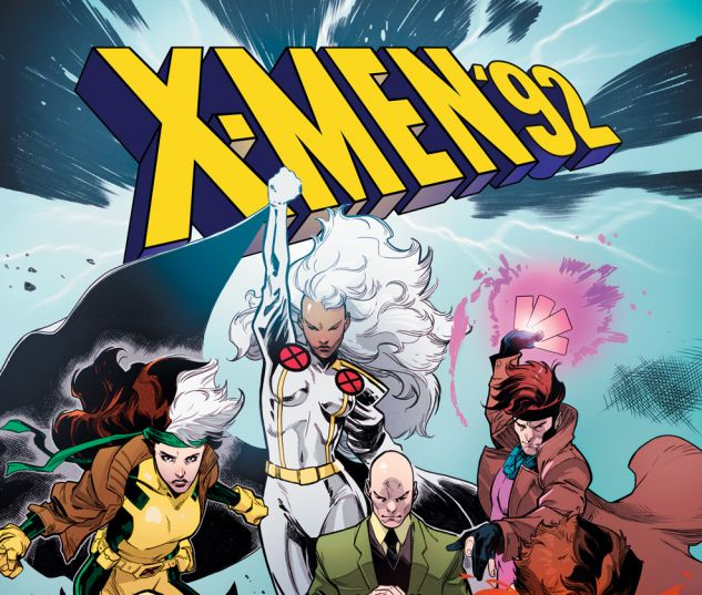 X-Men '92 #1 cover by Pepe Larraz