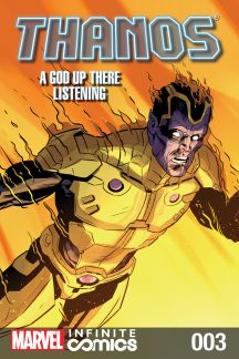 Thanos: A God Up There Listening Infinite Comic #3