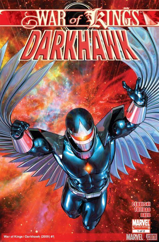 War of Kings: Darkhawk (2009) #1