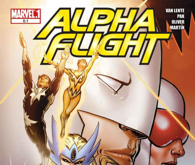 ALPHA FLIGHT (2011) #0.1 Cover