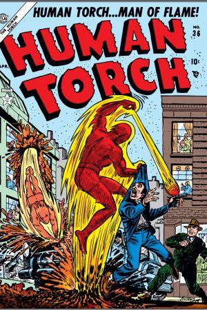 Human Torch Comics #36