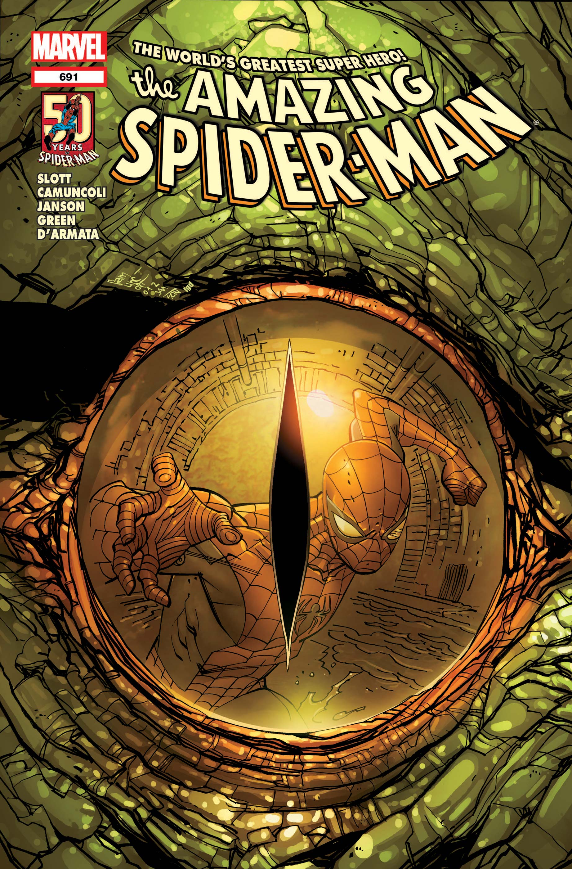 Amazing Spider-Man (1999) #691