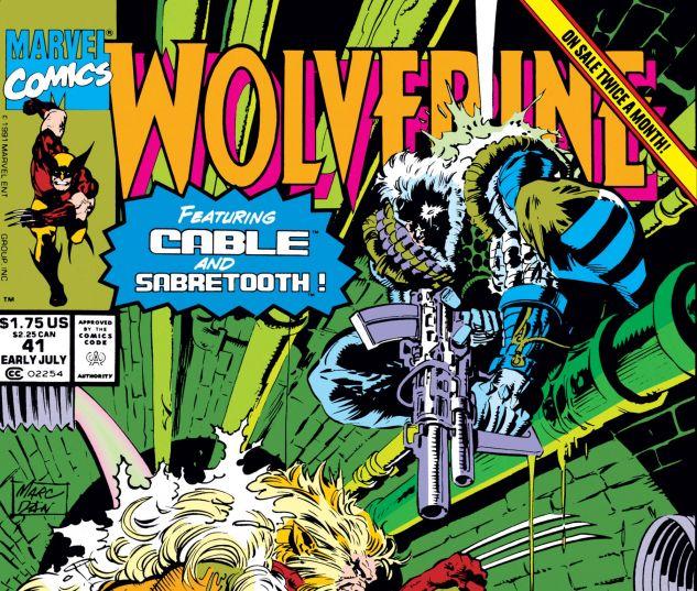WOLVERINE (1988) #41