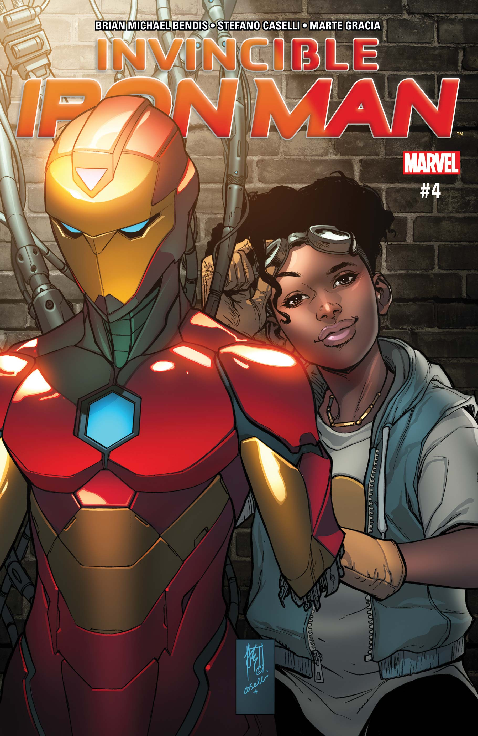 Invincible Iron Man (2016) #4