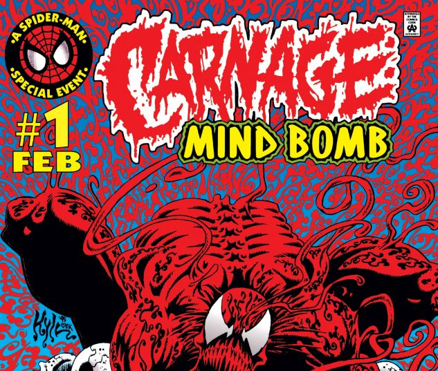Cover for CARNAGE: MIND BOMB 1