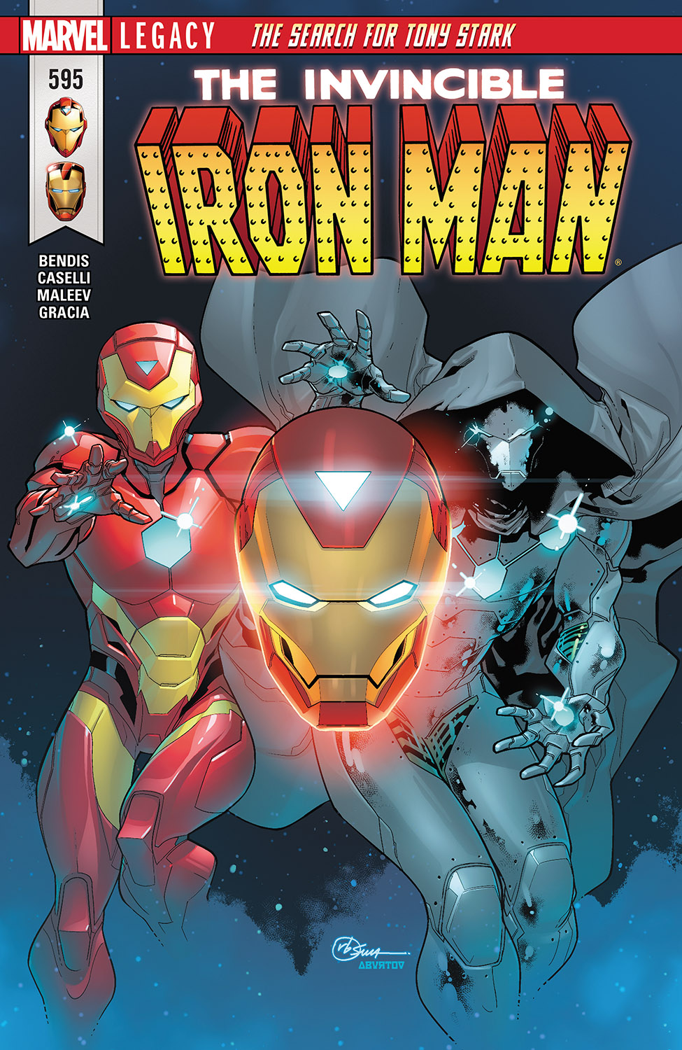Invincible Iron Man (2016) #595