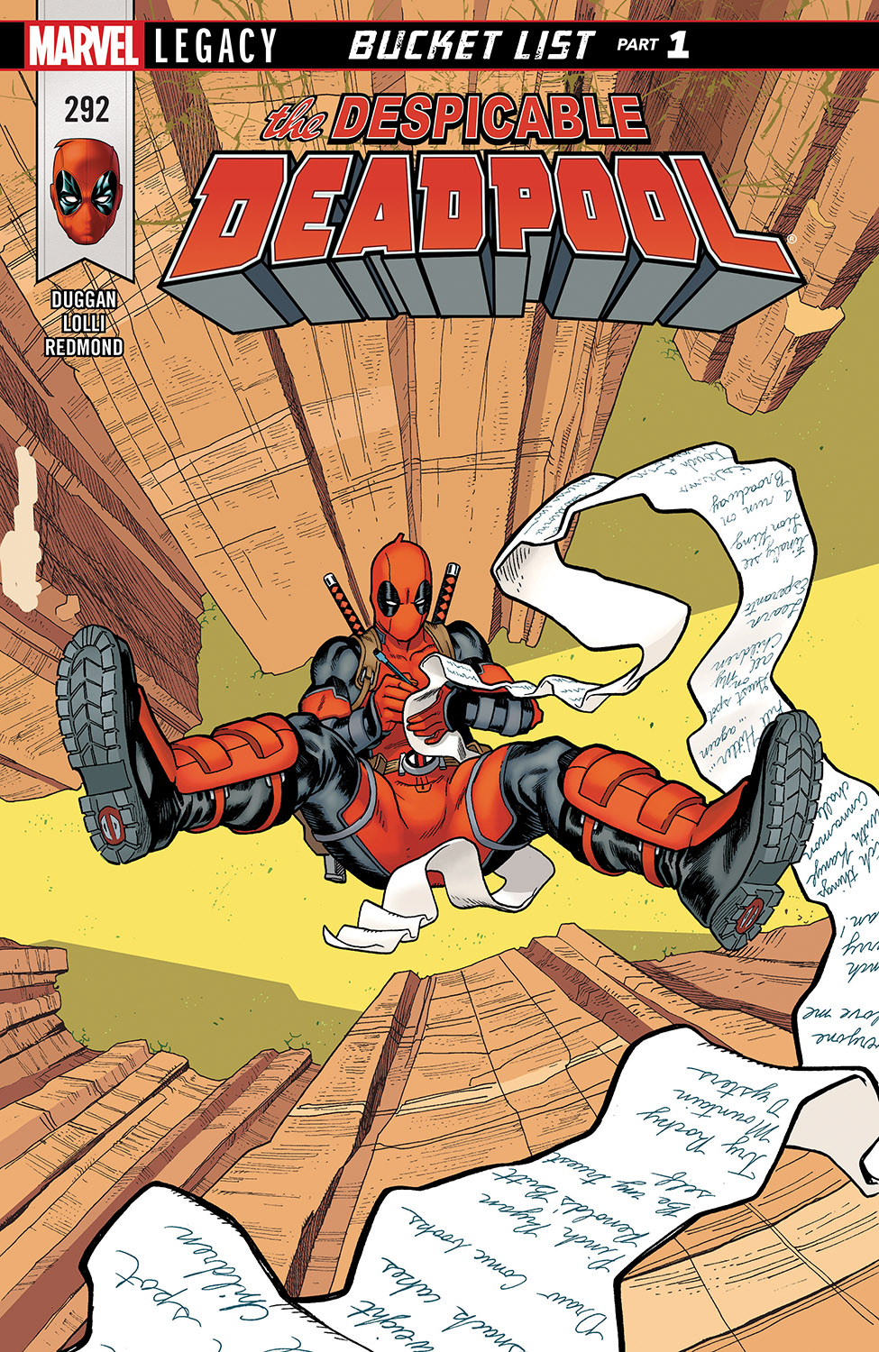 Despicable Deadpool (2017) #292
