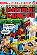 Master of Kung Fu (1974) #35 cover