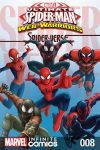 cover from Marvel Universe Ultimate Spider-Man: Spider-Verse Infinite Comic (2018) #8