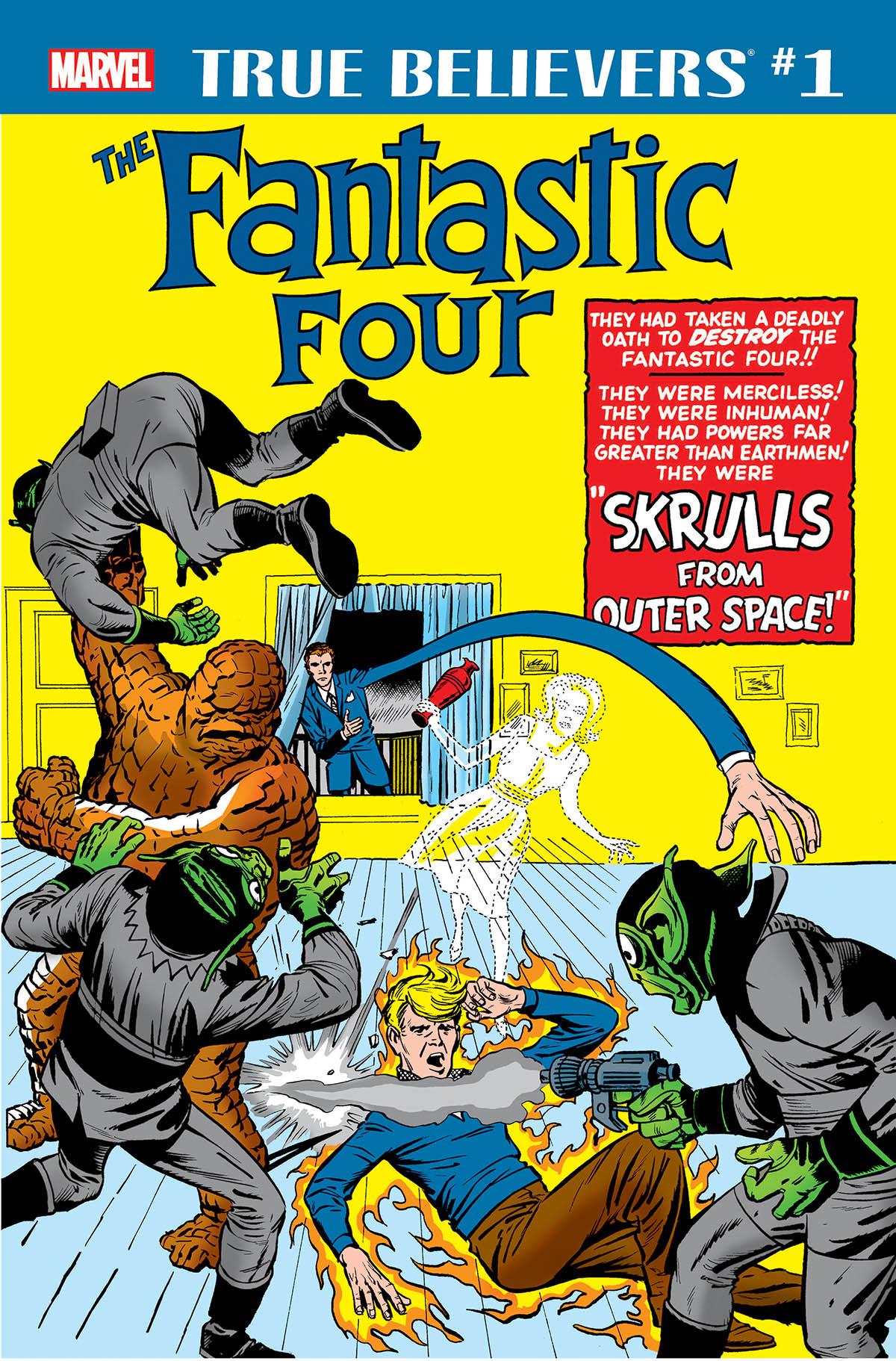 True Believers: Fantastic Four - Skrulls (2018) #1