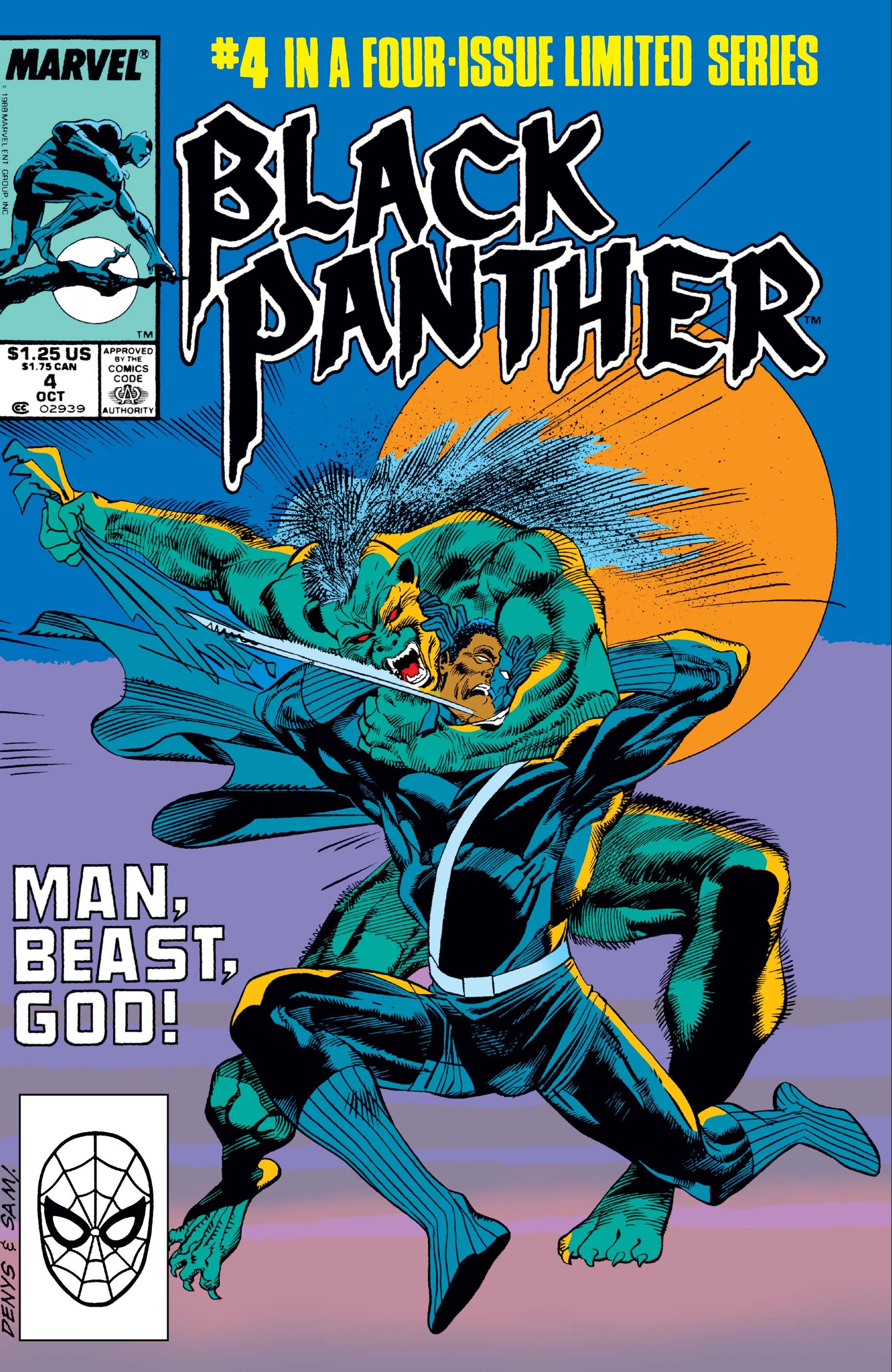 Black Panther (1988) #4