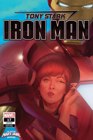 Tony Stark: Iron Man (2018) #17 (Variant)