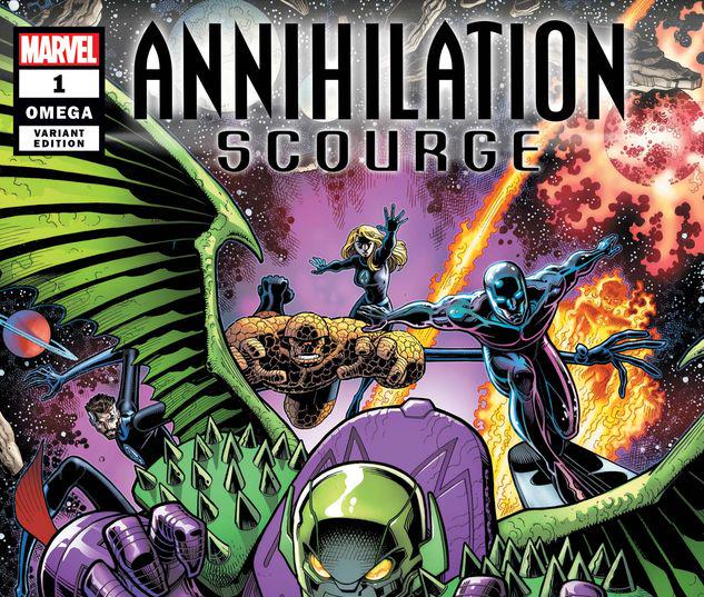 ANNIHILATION - SCOURGE OMEGA 1 ARTHUR ADAMS VARIANT #1