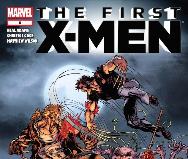 FIRST X-MEN (2011) #5