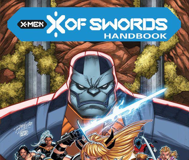 X OF SWORDS HANDBOOK 1 #1