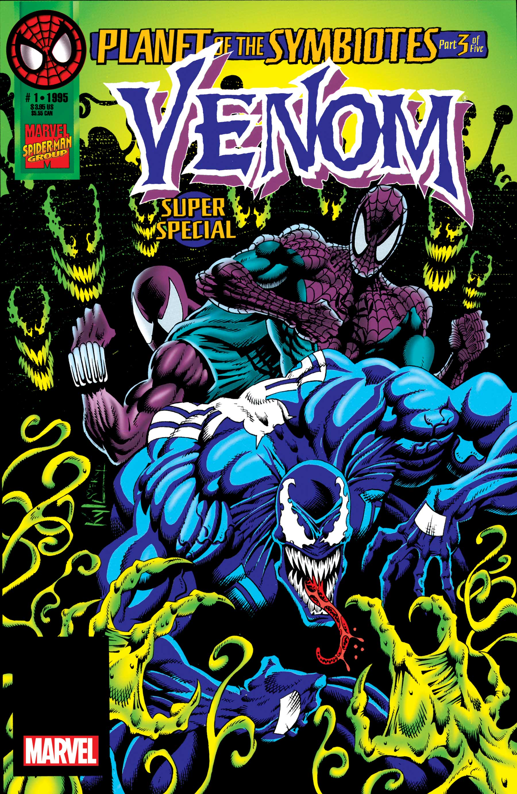 Venom Epic Collection: Symbiosis  (Trade Paperback)