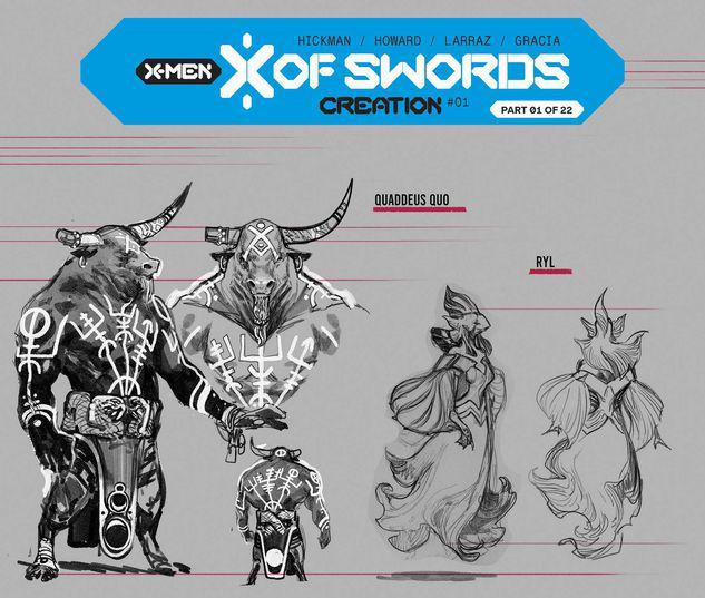 X OF SWORDS: CREATION 1 LARRAZ DESIGN VARIANT #1