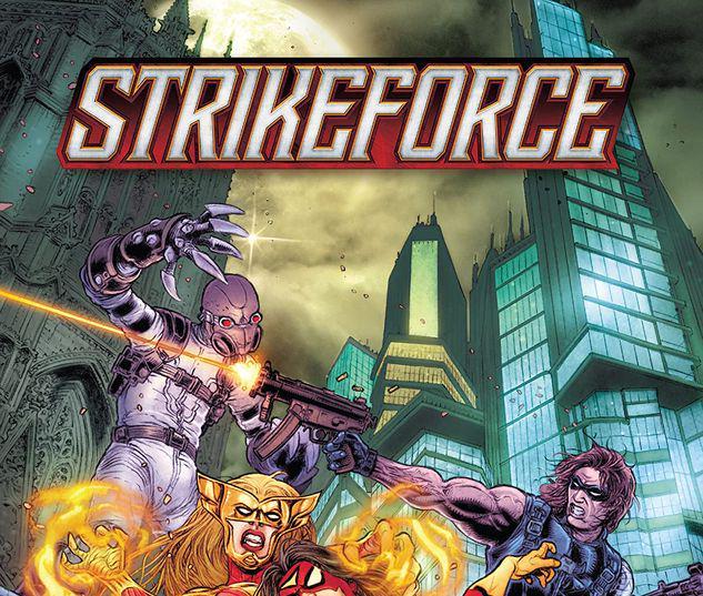 STRIKEFORCE VOL. 2: FIGHT ME TPB #2
