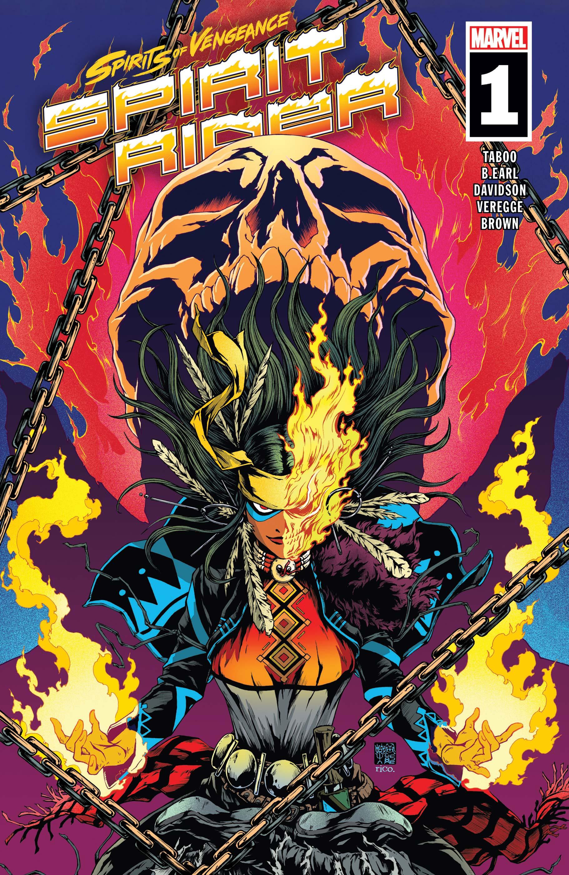Spirits of Vengeance: Spirit Rider (2021) #1