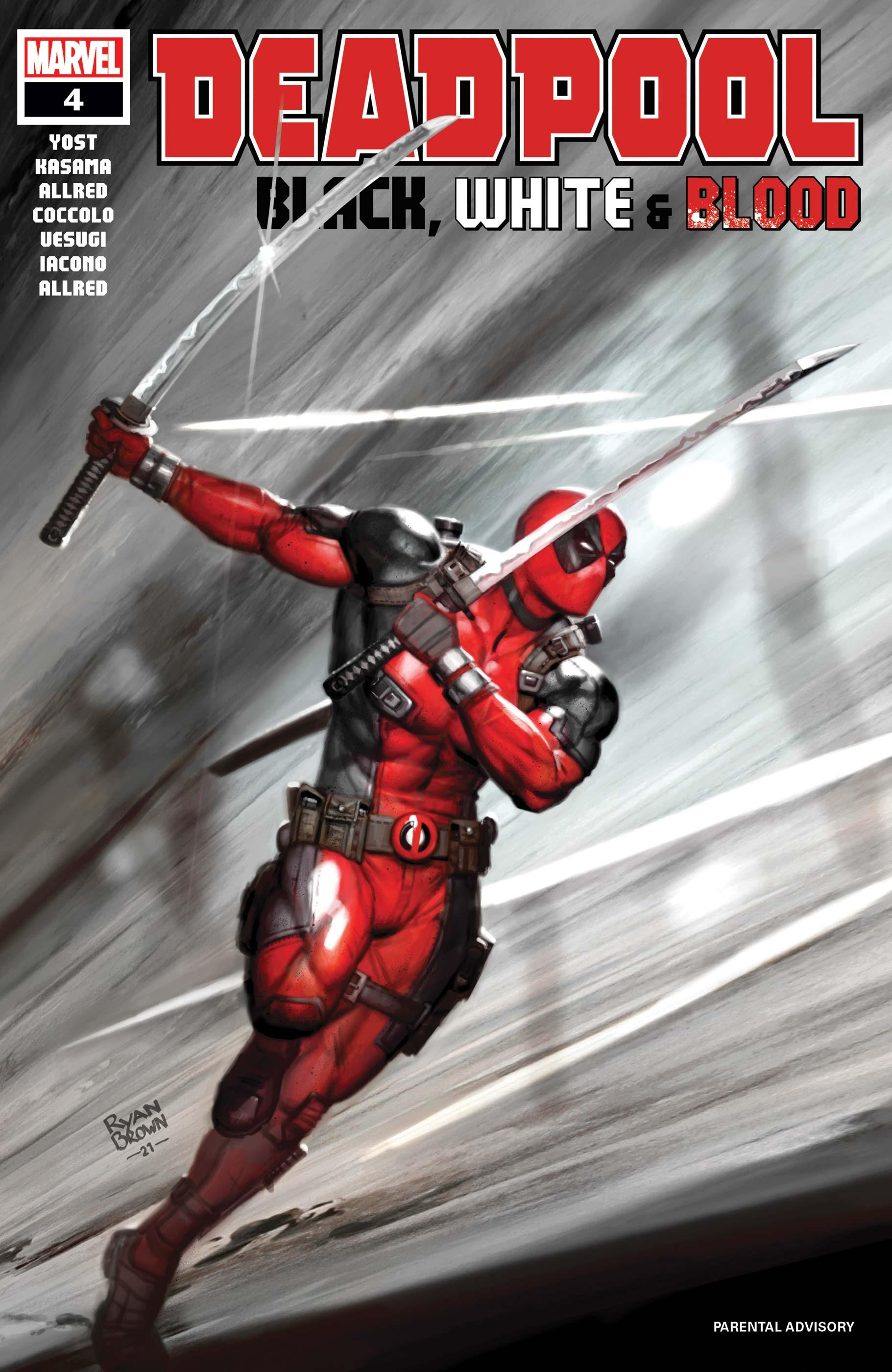 Deadpool: Black, White & Blood (2021) #4